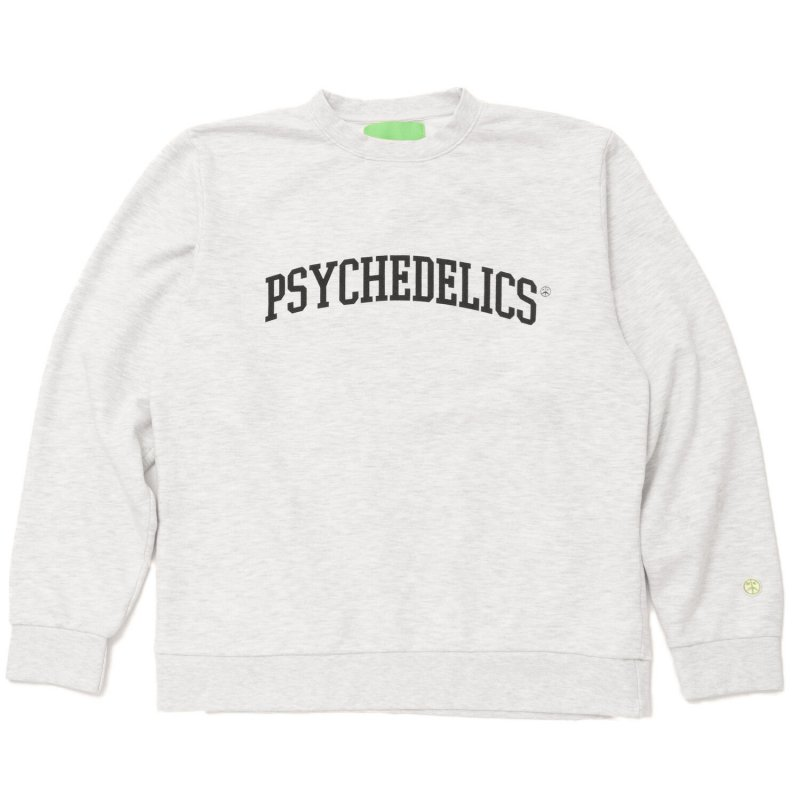 (Mister Green) PSYCHEDELICS PRO CREWNECK - HEATHER