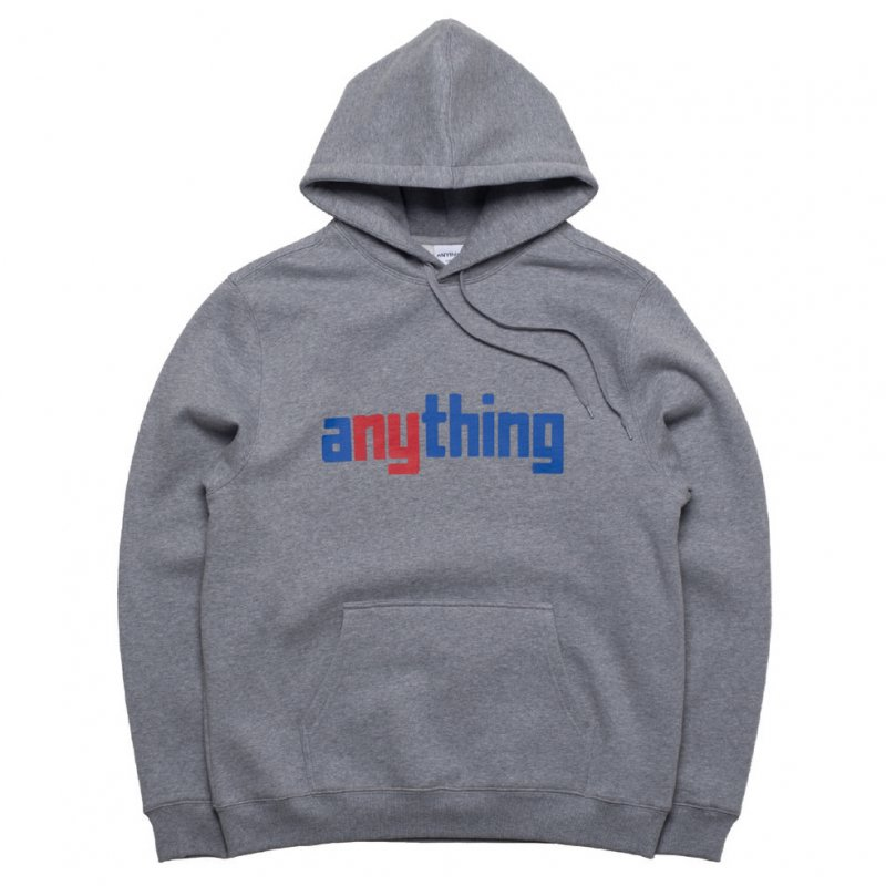 (aNYthing) aNYthing Hoodie - Heather Grey
