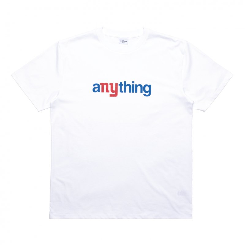 (aNYthing) aNYthing Speedball Tee - White