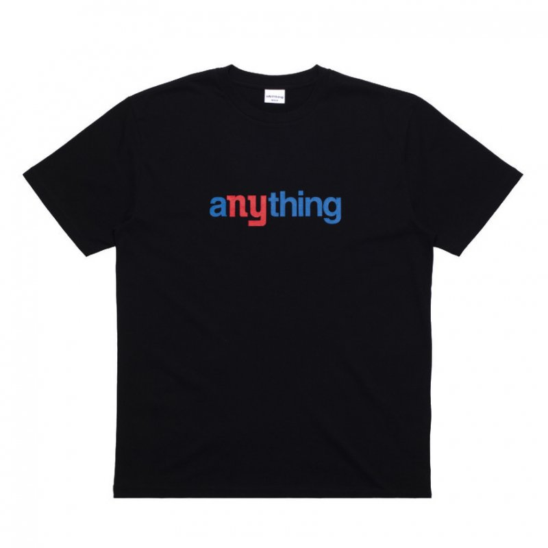 (aNYthing) aNYthing Speedball Tee - Black