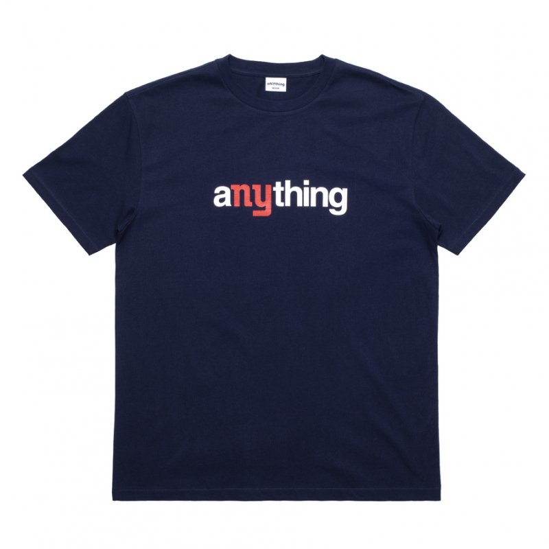 (aNYthing) aNYthing Speedball Tee - Navy