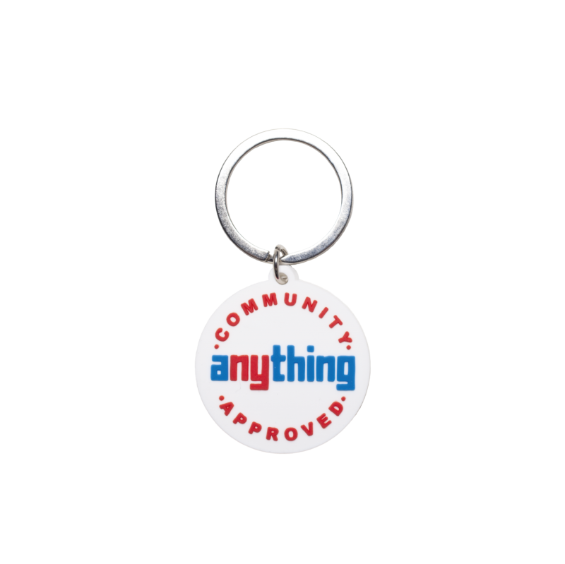 (aNYthing) aNYthing Community Approved Keychain