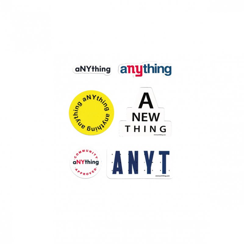 (aNYthing) ANYTHING Stickers
