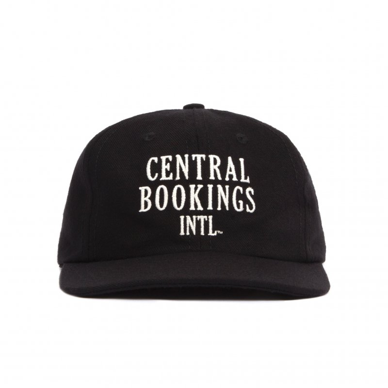 (CENTRAL BOOKINGS INTL) Courthouse Logo Hat - Black