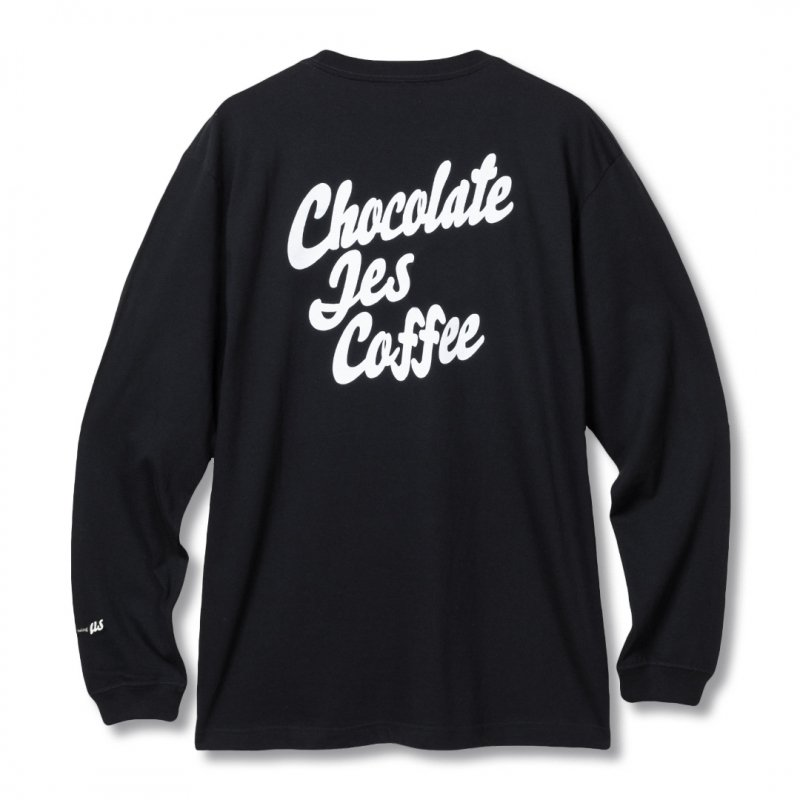 (Chocolate Jesus Coffee) For The Missing US L/S Tee - Black