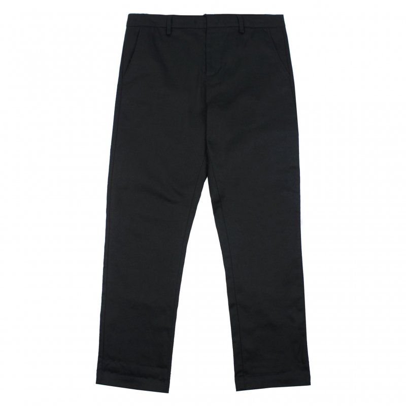 (Belief NYC) HERITAGE CHINO PANT - BLACK