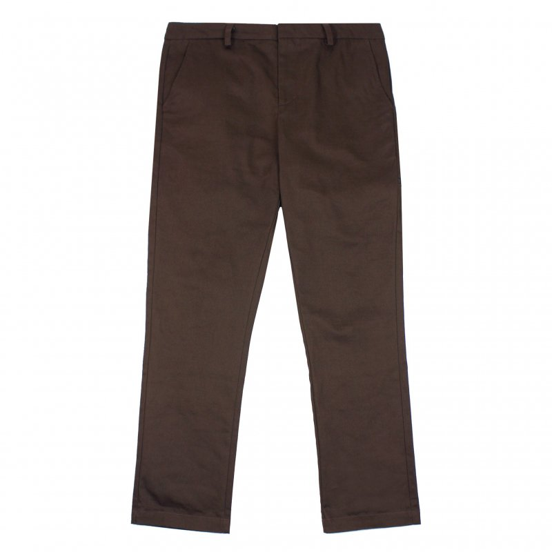(Belief NYC) HERITAGE CHINO PANT - BROWN