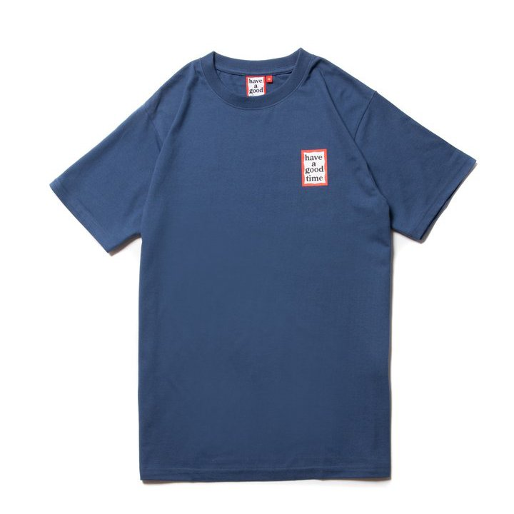 (have a good time) MINI FRAME S/S TEE - INK BLUE