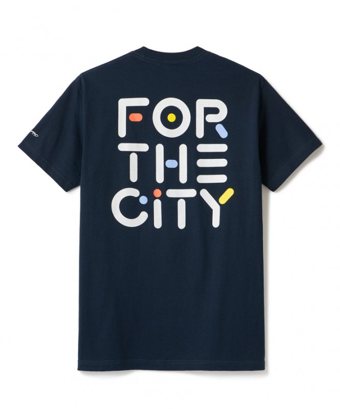 (FTC) FOR THE CITY TEE - NAVY