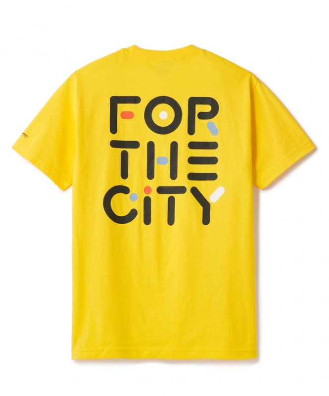 (FTC) FOR THE CITY TEE - YELLOW