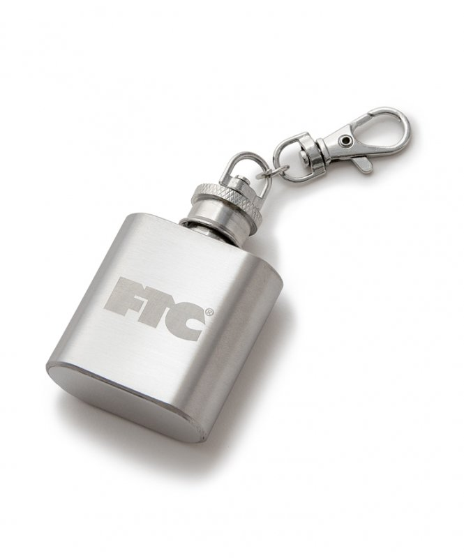 (FTC) FLASK KEYCHAIN - STAINLESS