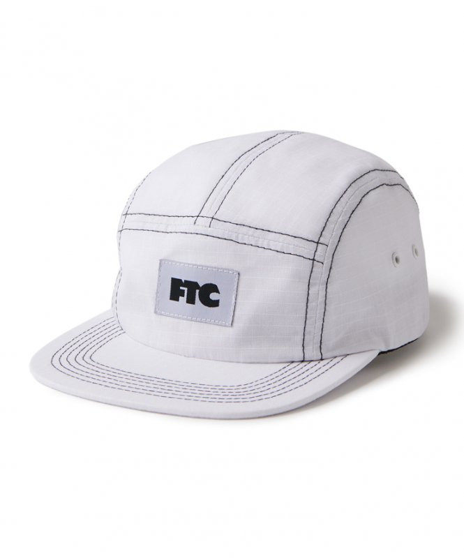 <img class='new_mark_img1' src='https://img.shop-pro.jp/img/new/icons5.gif' style='border:none;display:inline;margin:0px;padding:0px;width:auto;' />(FTC) CONTRAST STITCH RIPSTOP CAMP CAP - WHITE