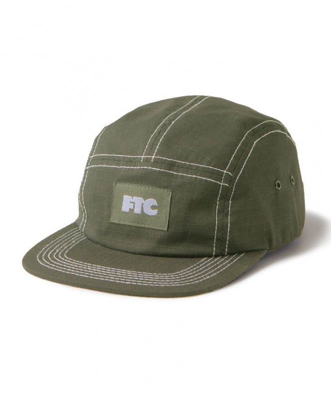 <img class='new_mark_img1' src='https://img.shop-pro.jp/img/new/icons5.gif' style='border:none;display:inline;margin:0px;padding:0px;width:auto;' />(FTC) CONTRAST STITCH RIPSTOP CAMP CAP - OLIVE