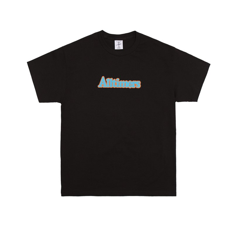 <img class='new_mark_img1' src='https://img.shop-pro.jp/img/new/icons5.gif' style='border:none;display:inline;margin:0px;padding:0px;width:auto;' />(Alltimers) BROADWAY TEE - BLACK
