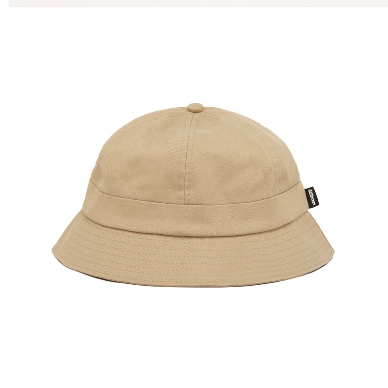 <img class='new_mark_img1' src='https://img.shop-pro.jp/img/new/icons5.gif' style='border:none;display:inline;margin:0px;padding:0px;width:auto;' />(Alltimers) BROADWAY BUCKET HAT - KHAKI