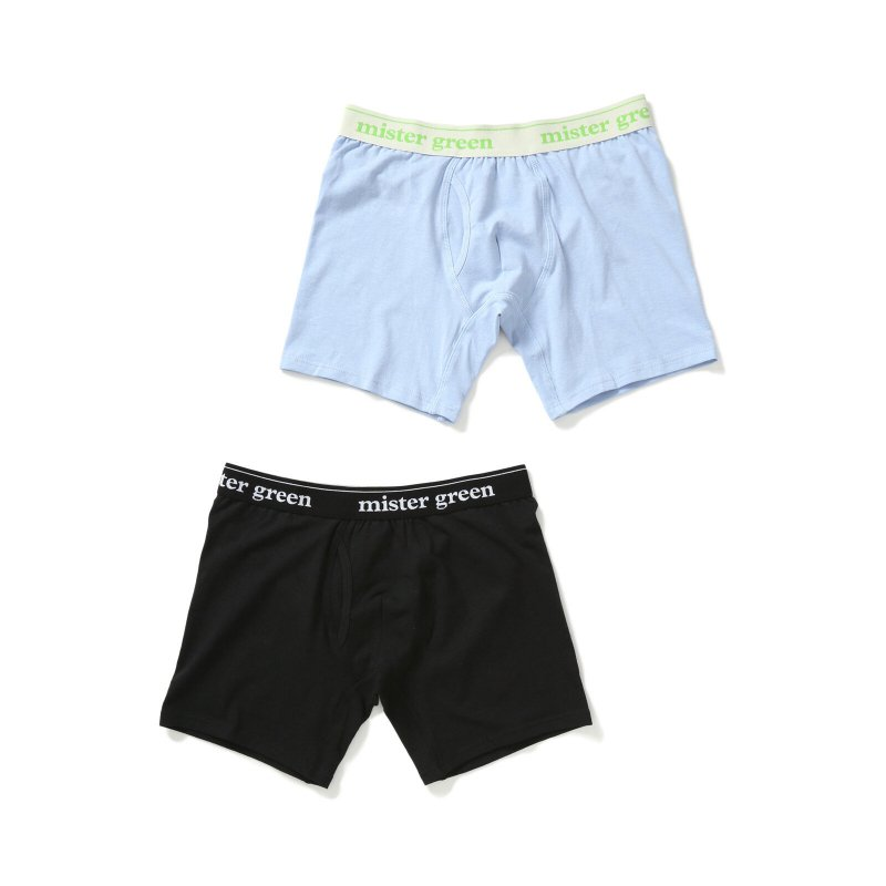 <img class='new_mark_img1' src='https://img.shop-pro.jp/img/new/icons5.gif' style='border:none;display:inline;margin:0px;padding:0px;width:auto;' />(Mister Green) Wordmark Hemp Underwear - 2 Pack
