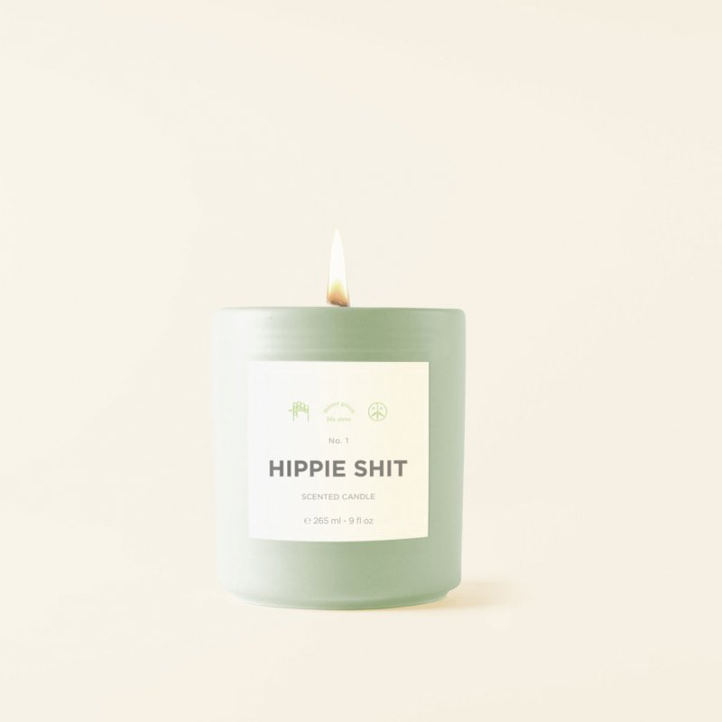 (Mister Green) Fragrance No. 1 - Hippie Shit - Scented Candle