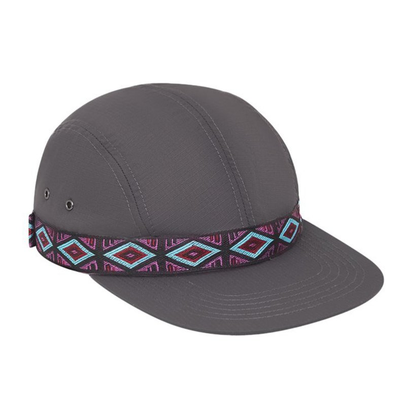 (Only NY) Rip-Stop 4-Panel Hat - Slate