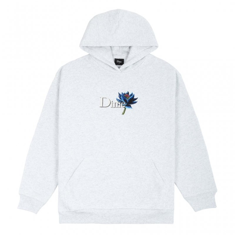 <img class='new_mark_img1' src='https://img.shop-pro.jp/img/new/icons5.gif' style='border:none;display:inline;margin:0px;padding:0px;width:auto;' />(Dime MTL) DIME BLACK LOTUS HOODIE - ASH