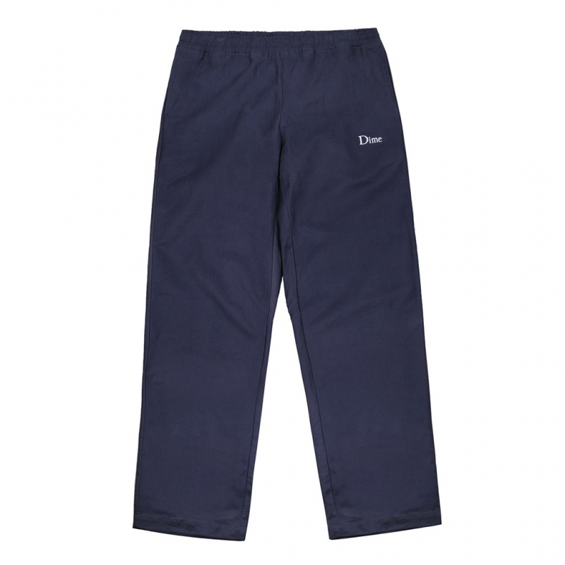 <img class='new_mark_img1' src='https://img.shop-pro.jp/img/new/icons5.gif' style='border:none;display:inline;margin:0px;padding:0px;width:auto;' />(Dime MTL) DIME TWILL PANTS - NAVY