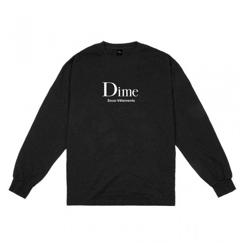 <img class='new_mark_img1' src='https://img.shop-pro.jp/img/new/icons5.gif' style='border:none;display:inline;margin:0px;padding:0px;width:auto;' />(Dime MTL) DIME SOUS-VETEMENTS L/S - BLACK