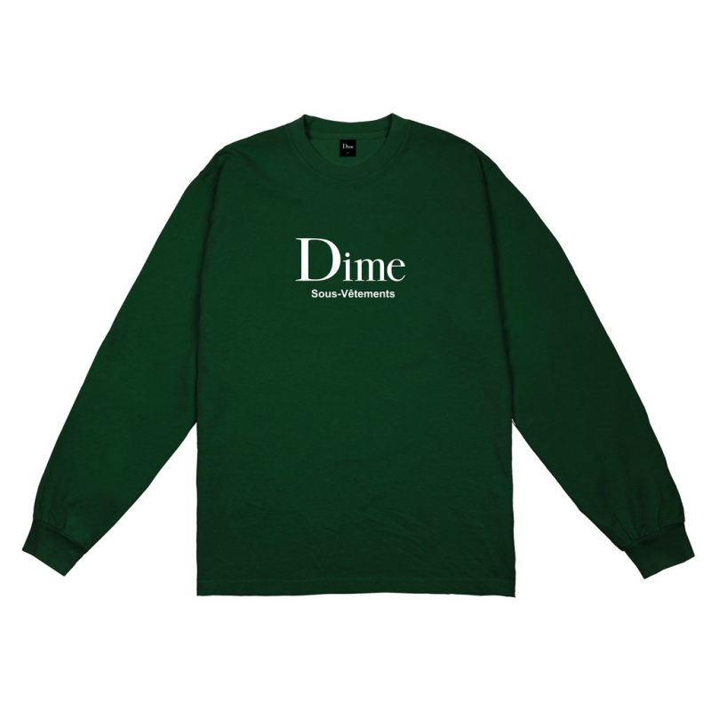 <img class='new_mark_img1' src='https://img.shop-pro.jp/img/new/icons5.gif' style='border:none;display:inline;margin:0px;padding:0px;width:auto;' />(Dime MTL) DIME SOUS-VETEMENTS L/S - FOREST