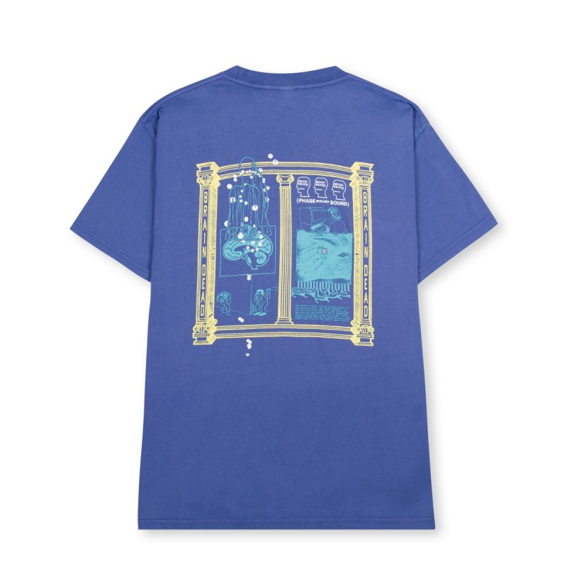 (Brain Dead) Phase Ecology Sound Short Sleeve - Frosted Purple