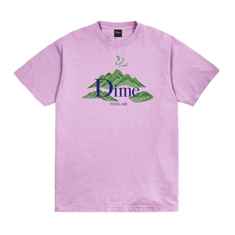 <img class='new_mark_img1' src='https://img.shop-pro.jp/img/new/icons5.gif' style='border:none;display:inline;margin:0px;padding:0px;width:auto;' />(Dime MTL) DIME PLEIN AIR T-SHIRT - LAVENDER