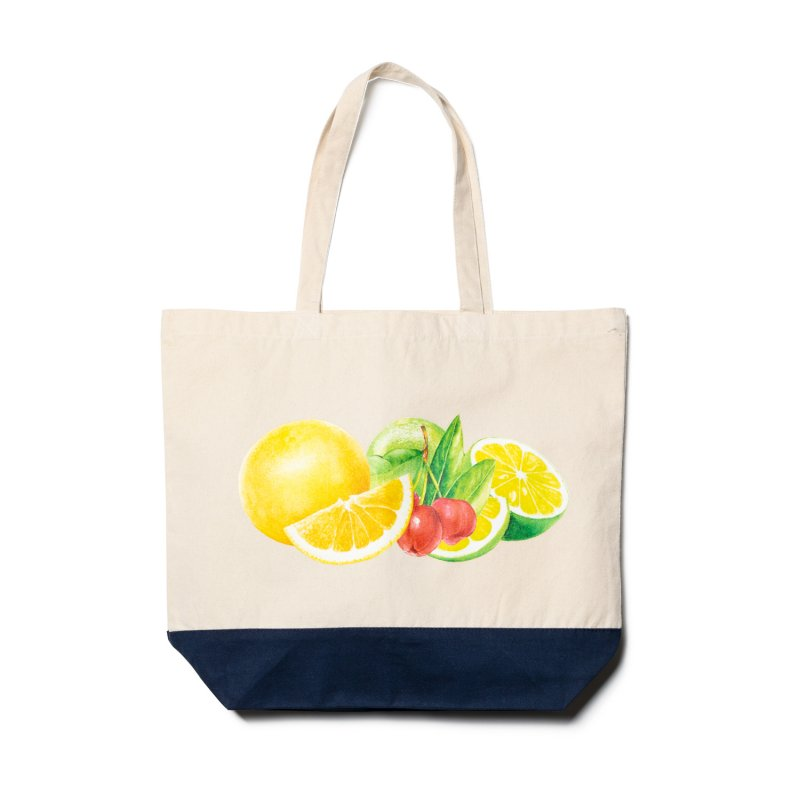 (DOSEE x Chocolate Jesus) CAUTION TOTE - NATURAL