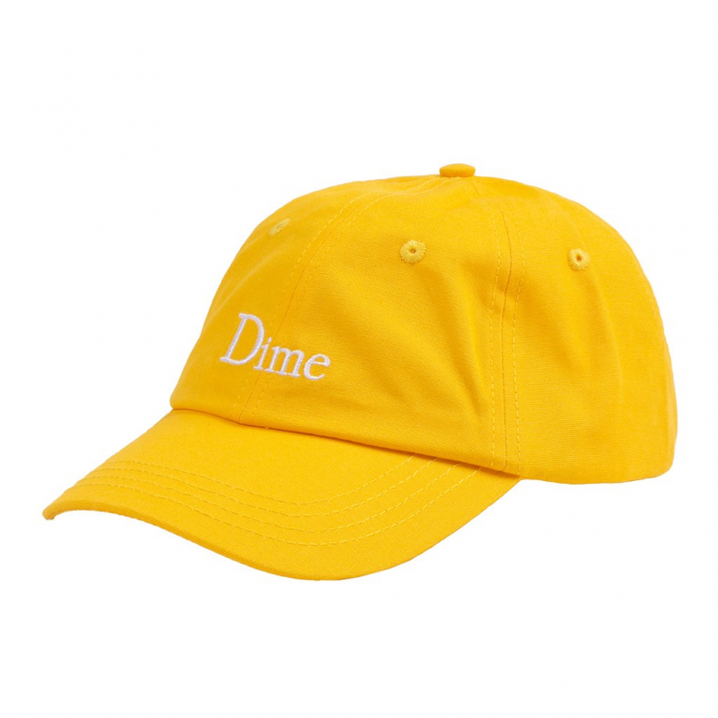 <img class='new_mark_img1' src='https://img.shop-pro.jp/img/new/icons5.gif' style='border:none;display:inline;margin:0px;padding:0px;width:auto;' />(Dime MTL) DIME CLASSIC CAP - YELLOW