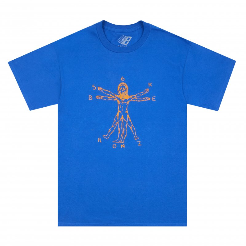 (BRONZE56K) DUALITY TEE - ROYAL