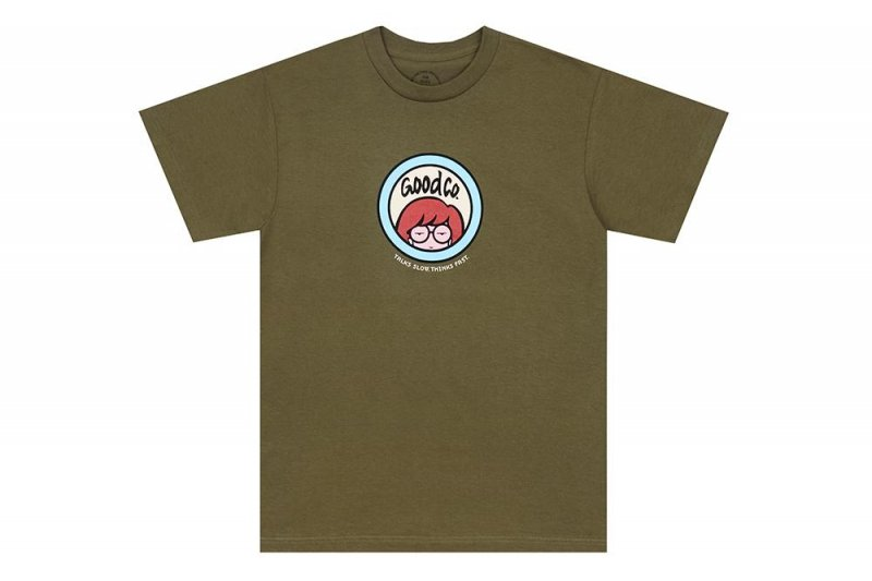 (The Good Company) Relax Tee - Military Green