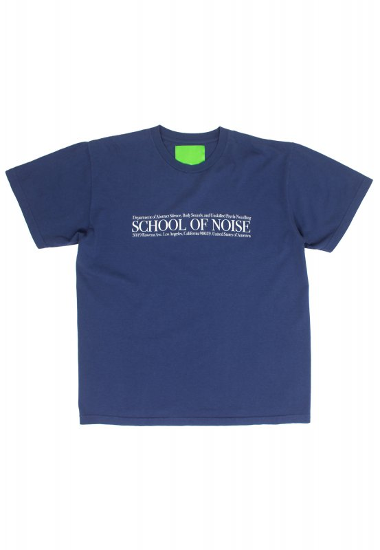 <img class='new_mark_img1' src='https://img.shop-pro.jp/img/new/icons5.gif' style='border:none;display:inline;margin:0px;padding:0px;width:auto;' />(Mister Green) School Of Noise Tee - Warm Blue