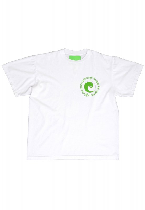 <img class='new_mark_img1' src='https://img.shop-pro.jp/img/new/icons5.gif' style='border:none;display:inline;margin:0px;padding:0px;width:auto;' />(Mister Green) Dualism Surf Tee V2 - White