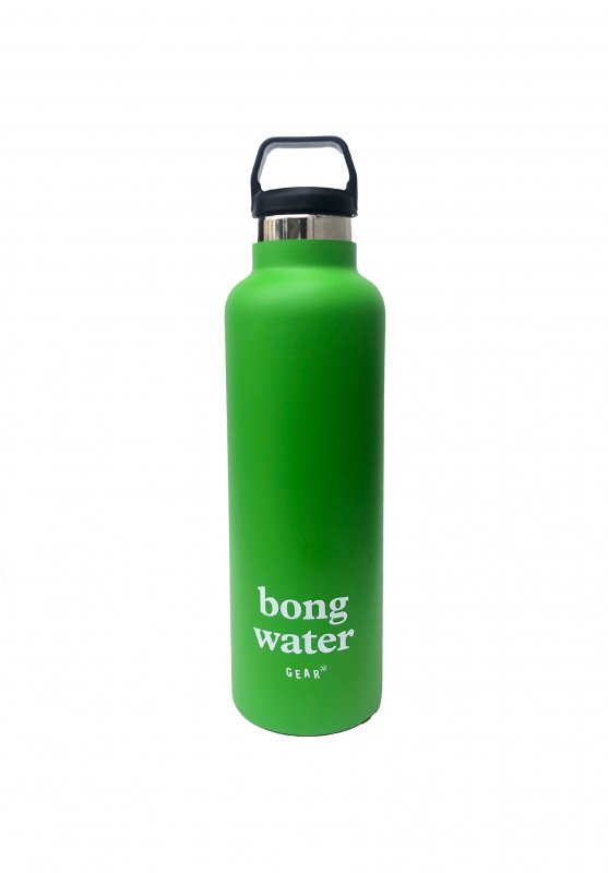 <img class='new_mark_img1' src='https://img.shop-pro.jp/img/new/icons5.gif' style='border:none;display:inline;margin:0px;padding:0px;width:auto;' />(Mister Green) Double Insulated Bong Water Bottle - Green