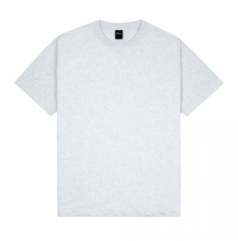 <img class='new_mark_img1' src='https://img.shop-pro.jp/img/new/icons5.gif' style='border:none;display:inline;margin:0px;padding:0px;width:auto;' />(Dime MTL) Dime Classic Small logo T-Shirt - Ash