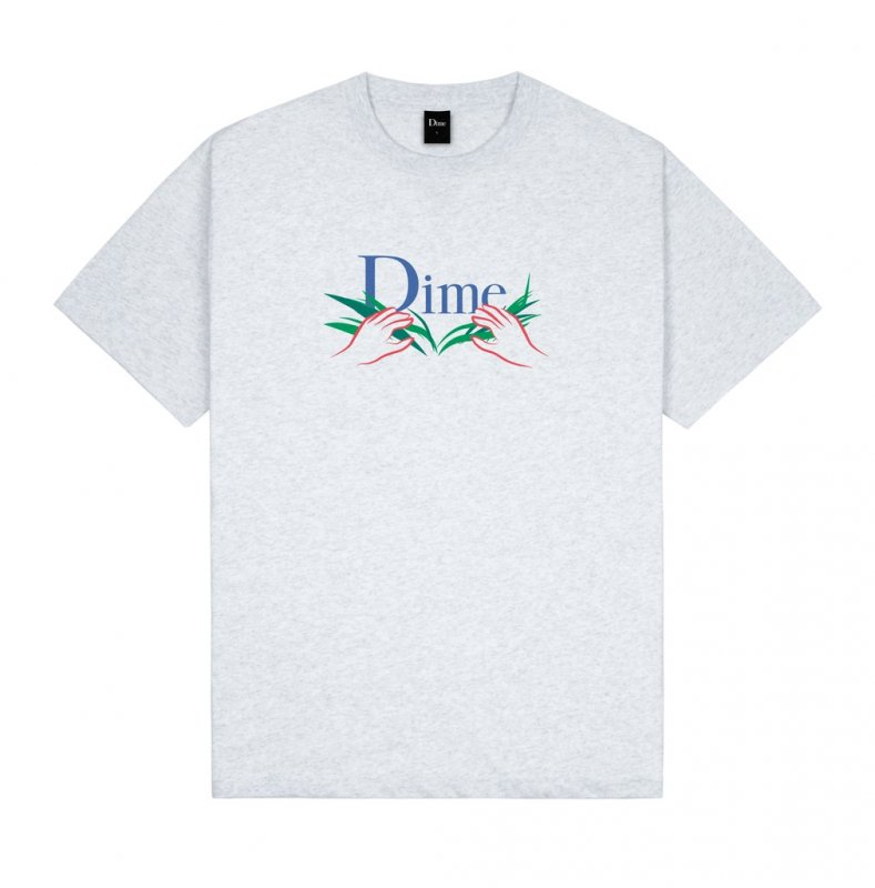 <img class='new_mark_img1' src='https://img.shop-pro.jp/img/new/icons5.gif' style='border:none;display:inline;margin:0px;padding:0px;width:auto;' />(Dime MTL) Dime Classic Grass T-Shirt - Ash