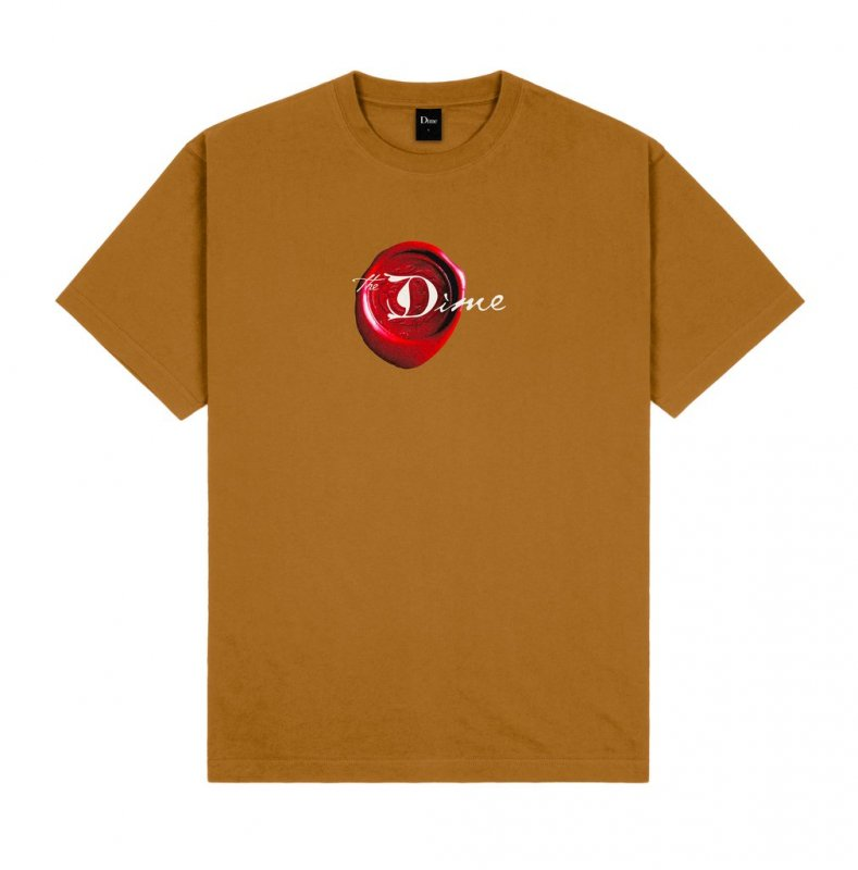 <img class='new_mark_img1' src='https://img.shop-pro.jp/img/new/icons5.gif' style='border:none;display:inline;margin:0px;padding:0px;width:auto;' />(Dime MTL) Secret T-Shirt - Coffee