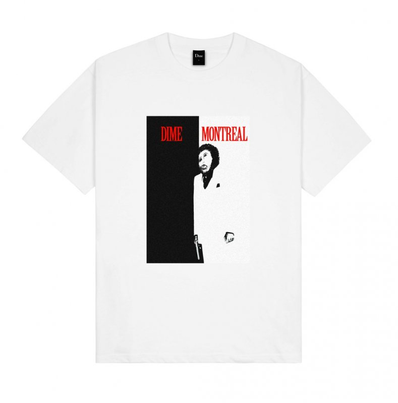 <img class='new_mark_img1' src='https://img.shop-pro.jp/img/new/icons5.gif' style='border:none;display:inline;margin:0px;padding:0px;width:auto;' />(Dime MTL) Restoration Face T-Shirt - White