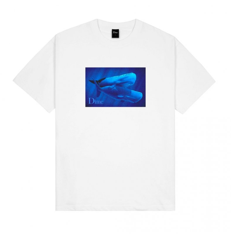 <img class='new_mark_img1' src='https://img.shop-pro.jp/img/new/icons5.gif' style='border:none;display:inline;margin:0px;padding:0px;width:auto;' />(Dime MTL) Hug T-Shirt - White