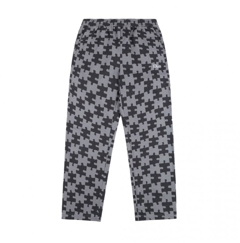 <img class='new_mark_img1' src='https://img.shop-pro.jp/img/new/icons5.gif' style='border:none;display:inline;margin:0px;padding:0px;width:auto;' />(Dime MTL) Dime Puzzle Twill Pants - Charcoal