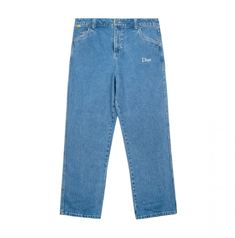 <img class='new_mark_img1' src='https://img.shop-pro.jp/img/new/icons5.gif' style='border:none;display:inline;margin:0px;padding:0px;width:auto;' />(Dime MTL) Dime Denim Pants - Light Wash