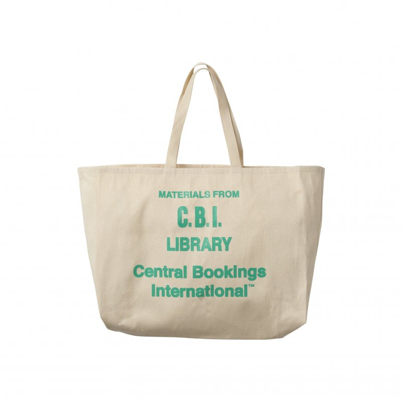 (CENTRAL BOOKINGS INTL) Law Library Tote - Natural