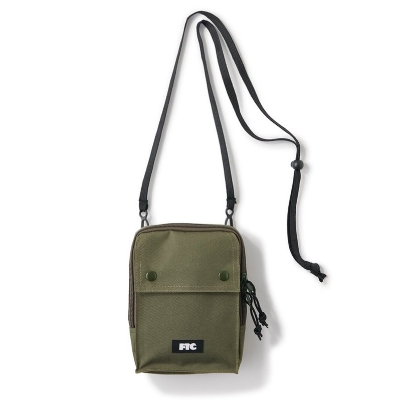 (FTC) NECK POUCH - OLIVE