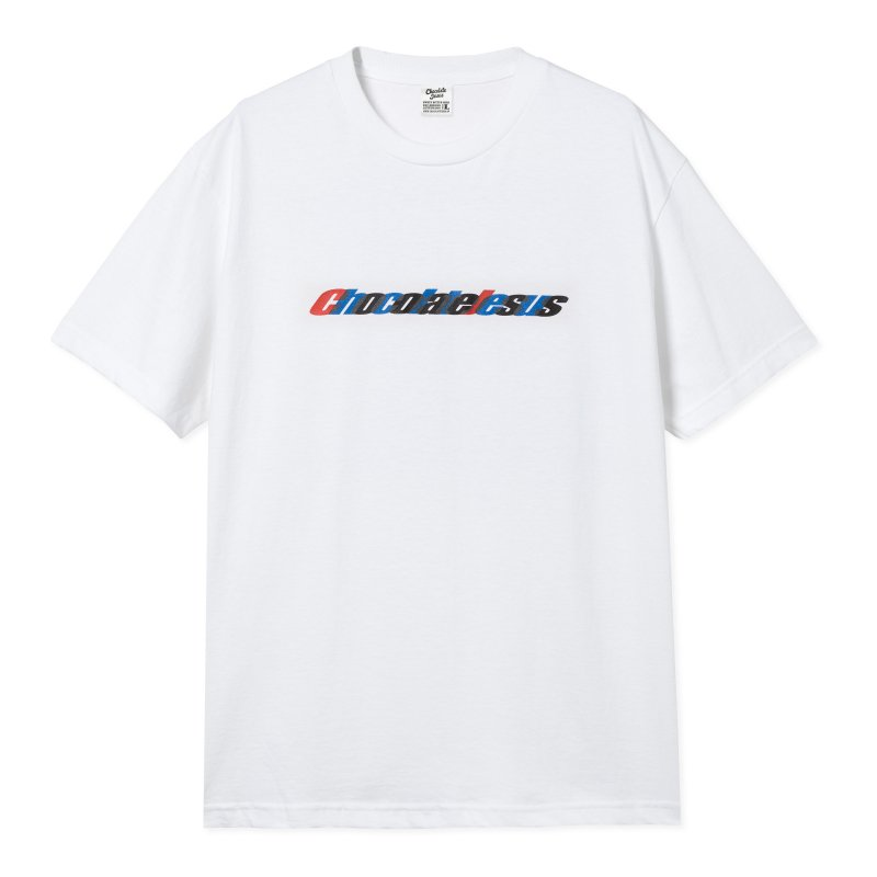 (Chocolate Jesus) Overlapped Letters Tee - White