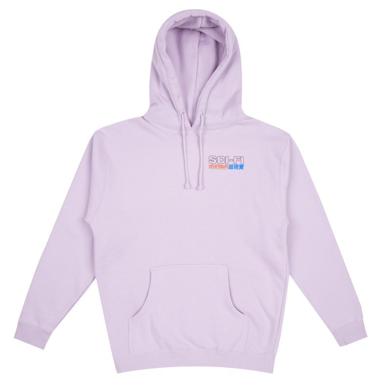 (SCI-FI FANTASY) Life After Life Hoodie - Purple