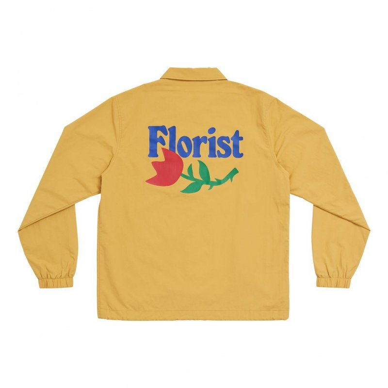 <img class='new_mark_img1' src='https://img.shop-pro.jp/img/new/icons5.gif' style='border:none;display:inline;margin:0px;padding:0px;width:auto;' />(Only NY) Florist Coaches Jacket - Hay