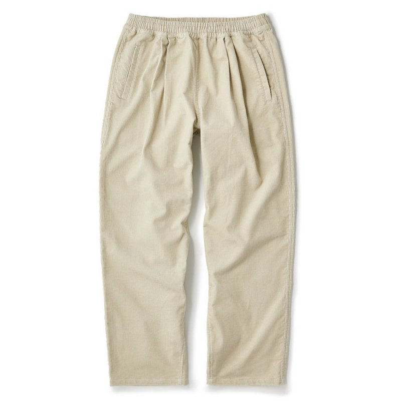 (FTC) CORDUROY EASY PANT - NATURAL