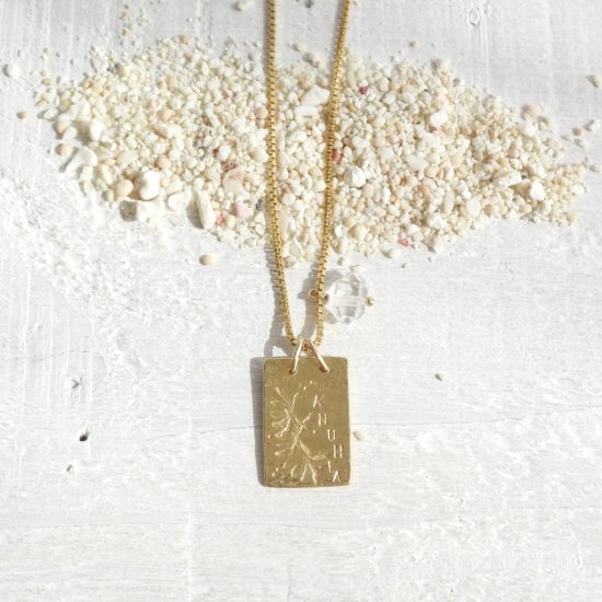 〈Original- Necklace〉ANUHEA