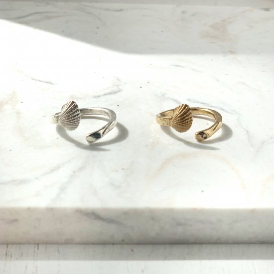 〈Cast of real ocean〉Ring-Silver or Gold-